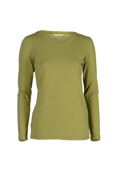 Lily and Me Layering Tee Plain Winter Lime