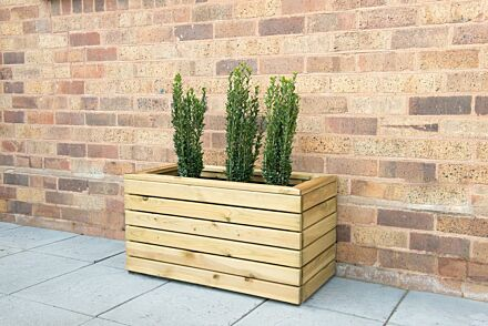 Forest Gardens Linear Planter - Double