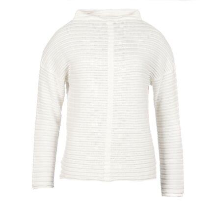 Barbour Linton Knit Sweater Cloud