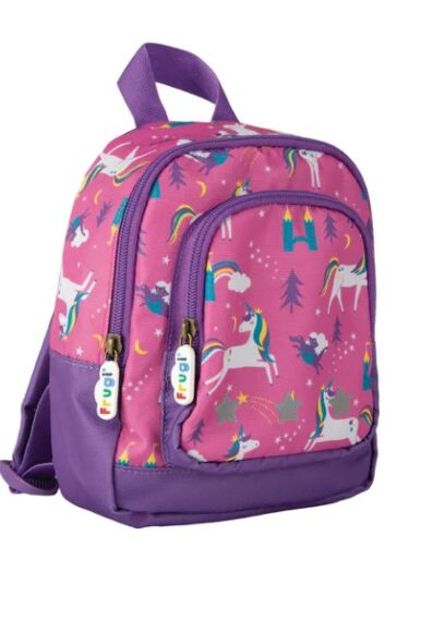 Frugi Little Adventurers Backpack Unicorn Puddles