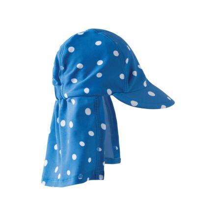 Frugi Little Swim Legionnaires Hat Sail Blue Polka Dot