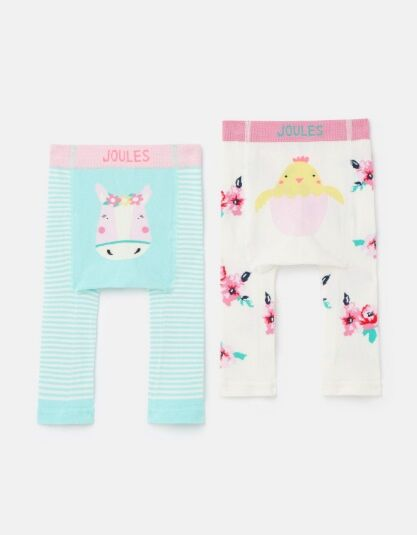 Joules Lively Character Leggings Horse Chick
