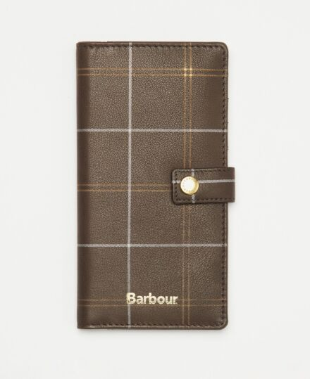 Barbour Phone Wallet Brown