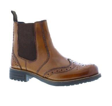 Country Jack Logan Brogue Boot Cognac