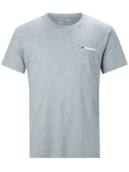 Berghaus Men's Corporate Logo Tee Grey Marl