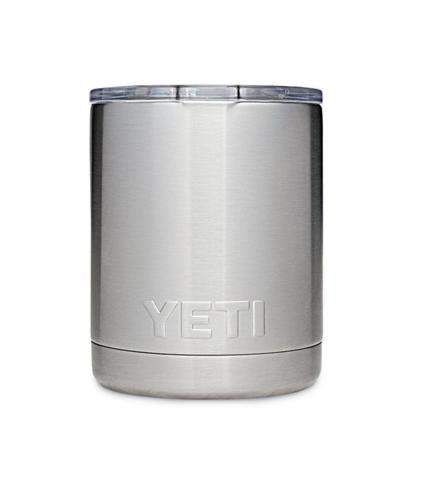 Yeti Rambler 10oz Lowball Stainless Steel