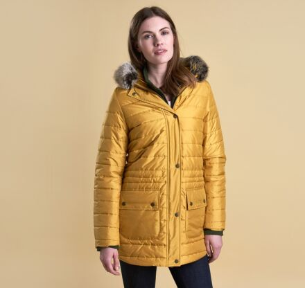 Barbour Ascott Quilt Jacket Harvest Gold