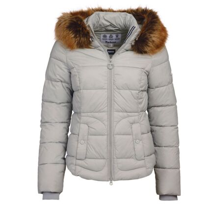 Barbour Dover Quilted Jacket Gray Dawn