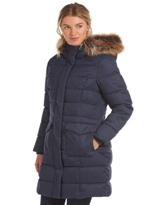 Barbour Guanay Quilted Jacket Dark Navy