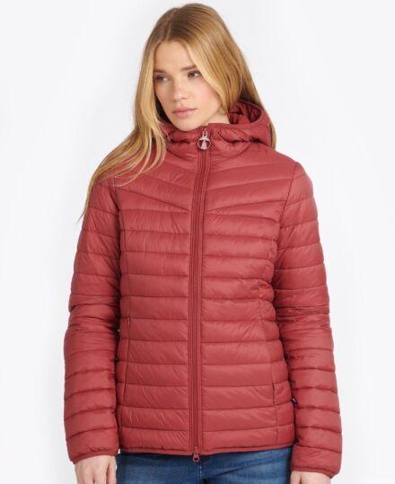 Barbour Hopper Quilt Jacket Mulberry