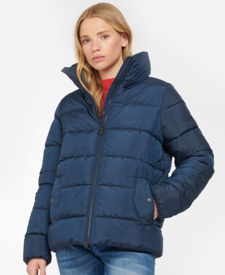 Barbour Dune Quilted Jacket Navy