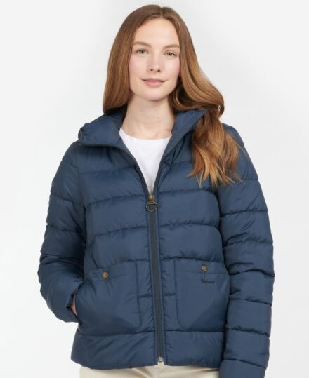 Barbour Oaktree Quilted Jacket Navy