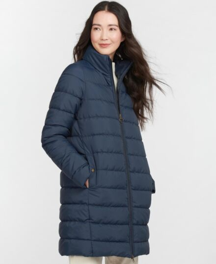 Barbour Filwood Quilted Jacket Navy