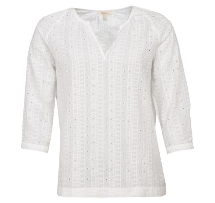 Barbour Overboard Top White