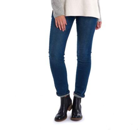 Barbour Essential Slim Fit Jeans Worn Blue