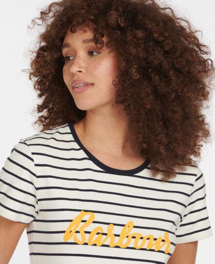 Barbour Short Sleeve Keilder T-Shirt Cloud Navy