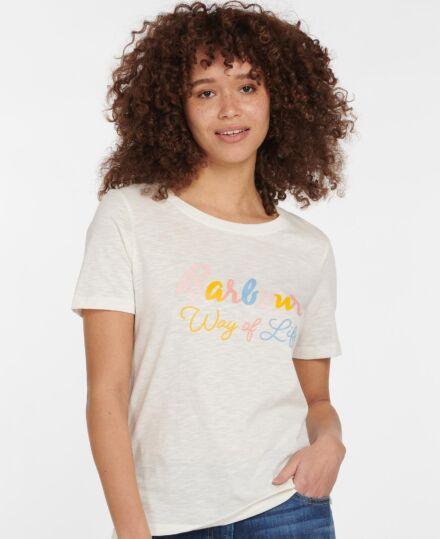 Barbour Sandridge T-Shirt Cloud