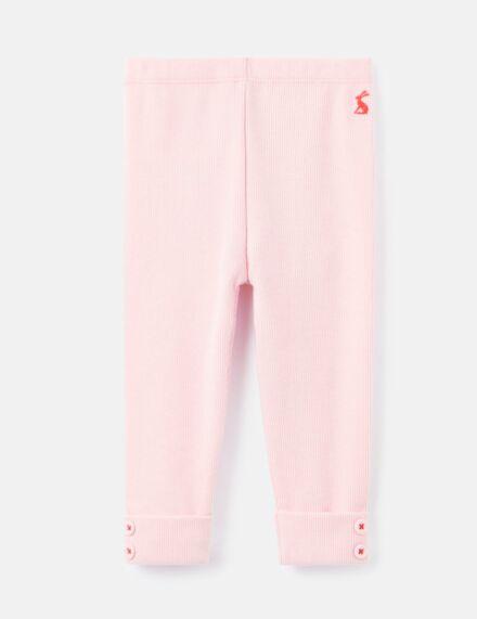 Joules Lula Rib Leggings Pink