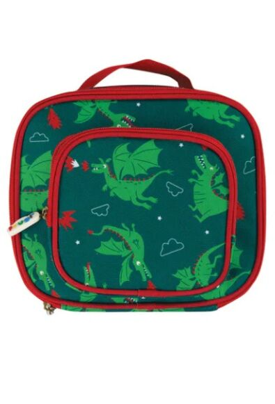 Frugi Pack a Snack Lunch Bag Dragons