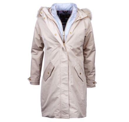 Barbour Bute Long Length Jacket Mist/Juniper Tartan
