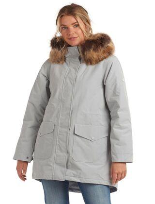 Barbour Swanage Waterproof Jacket Gray Dawn