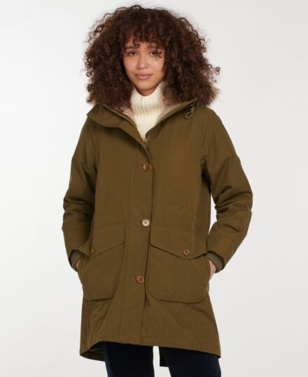 Barbour Foxton Jacket Nori Green/Dusk