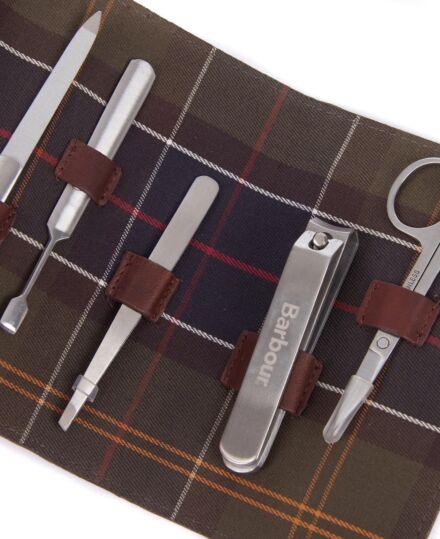 Barbour Aydon Manicure Kit Olive
