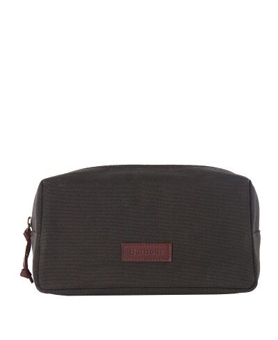 Barbour Ashfield Washbag Olive