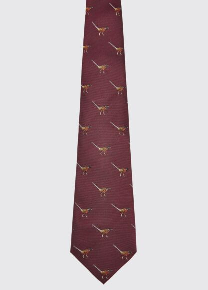 Dubarry Madden Silk Tie Merlot