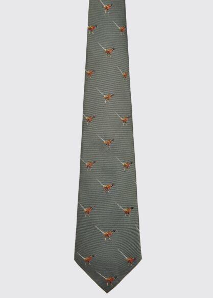 Dubarry Madden Silk Tie Olive