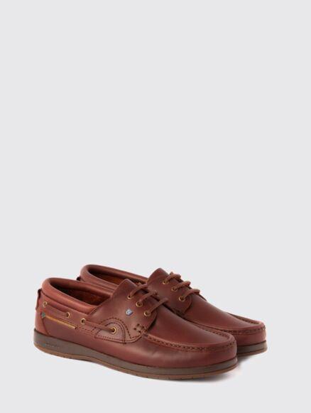 Dubarry Commodore X Lt Deck Shoes Mahogany