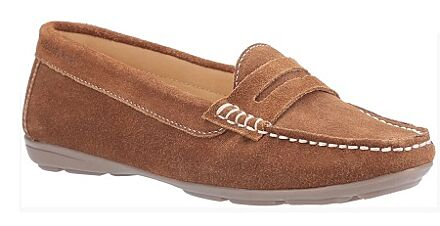 Hush Puppies Margot Slip On Shoes Tan