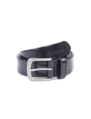 Barbour Malton leather Belt Gift Box Black