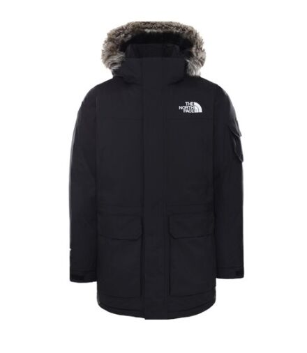 The North Face Men's Recycled McMurdo Jacket Black