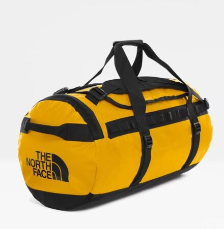 The North Face Base Camp Duffel Bag Summit Gold/Black Medium