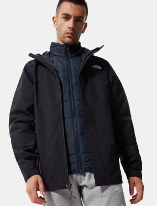 The North Face Men's Carto Zip-In Triclimate Jacket Aviator Navy