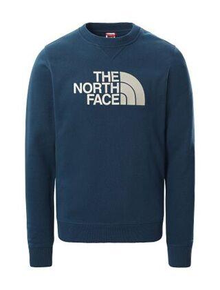 The North Face Men's Drew Peak Crew Sweater Monterey Blue