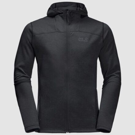 Jack Wolfskin Men's Horizon Hooded Jacket Black