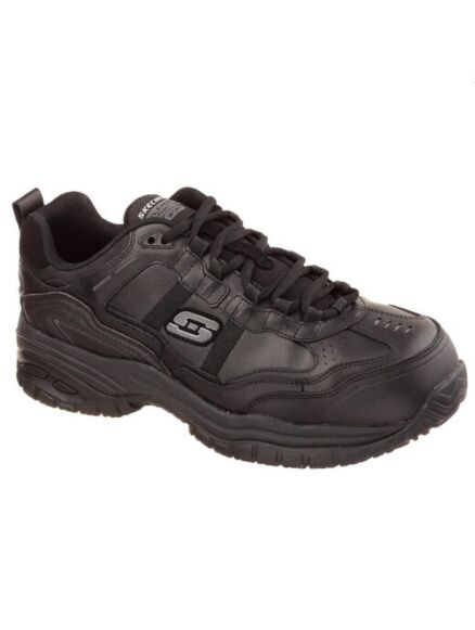 Skechers Men's Work Relaxed Fit: Soft Stride - Grinnell Comp Toe Black