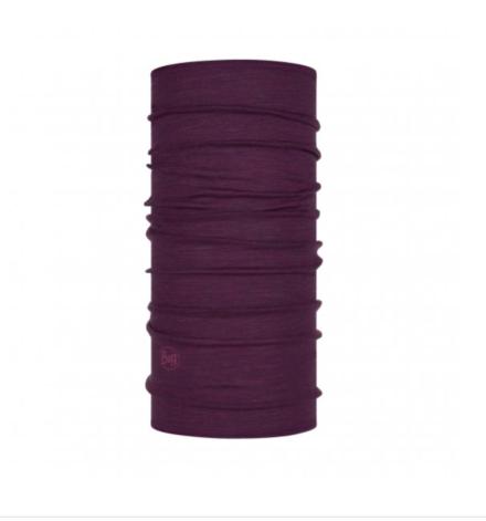 Buff Lightweight Merino Wool Purplish