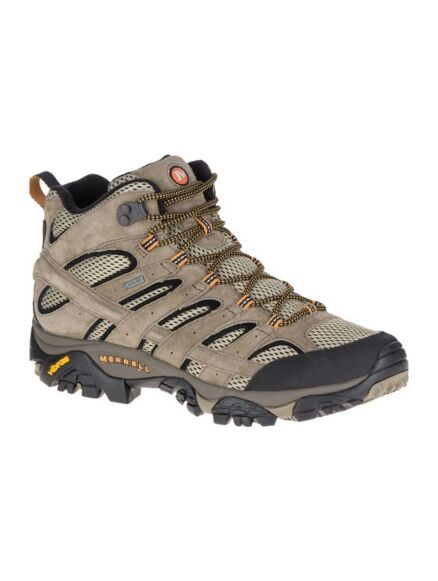 Merrell Men's Moab 2 Leather Mid Gore-Tex Hiking Boot Pecan