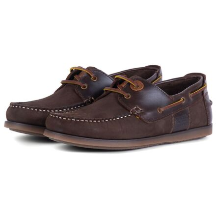 Barbour Capstan Boat Shoes Brown