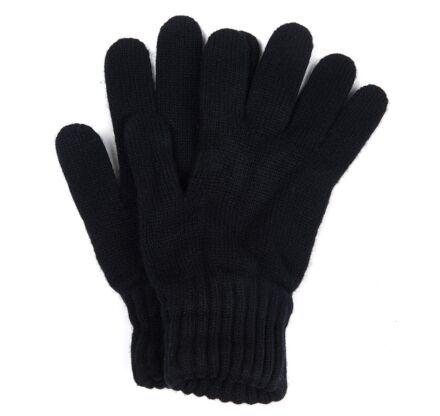 Barbour Lambswool Gloves Black
