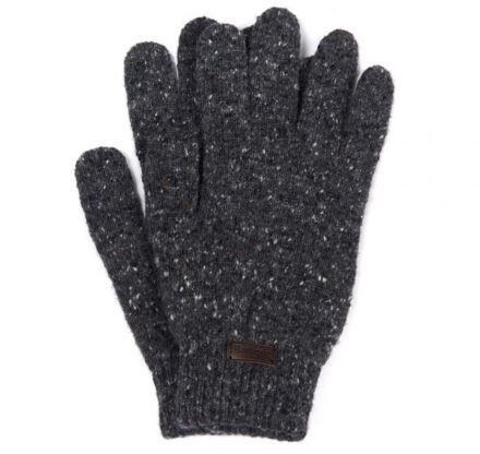 Barbour Donegal Gloves Charcoal