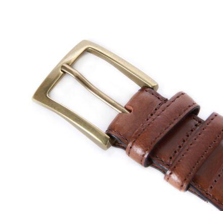 Barbour Belt Gift Box Dark Brown