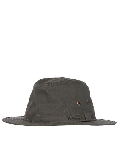 Barbour Dawson Safari Hat Olive