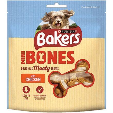 Bakers Mini Bones Adult Dog Treats 94g