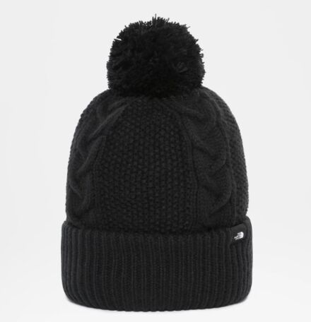 The North Face Women's Cable Minna Beanie TNF Black
