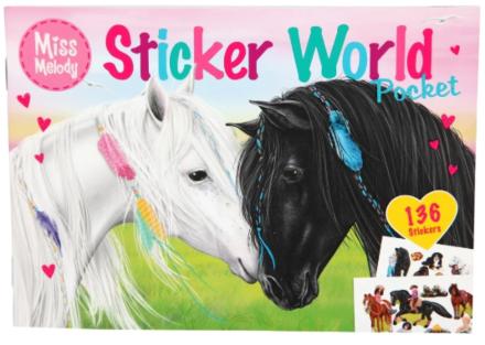 Miss Melody Sticker World Pocket