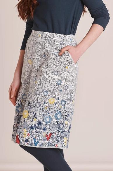 Mistral Night Garden Print Skirt Multi
